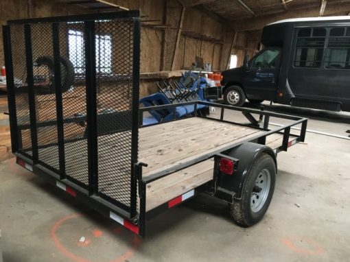 New 2019 Heavy Duty Construction Landscape Trailer